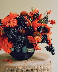 fall floral arrangements fall flower arrangements martha stewart