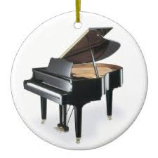 grand piano tree decorations ornaments zazzle co uk
