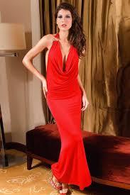 red draped v neck o ring backless maxi dress cheap maxi dresses