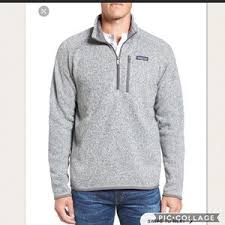 patagonia mens better sweater patagonia patagonia s better sweater 1 4 zip fleece from