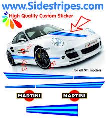 porsche racing logo martini racing side stripe martini u0026 hood decal sticker set all