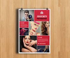 photography flyer template psd flyer design pinterest