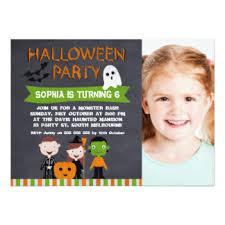 halloween birthday invitations u0026 announcements zazzle co uk