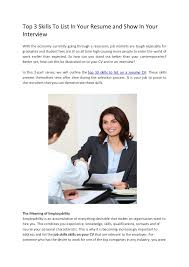 Skills To List On A Resume Top 3 Skills To List In Your Resume And Show In Your Interview 1 728 Jpg Cb U003d1333387864