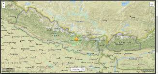 Nepal On Map by Nepal Earthquake 25 April 2015 The Day Of Our Destruction
