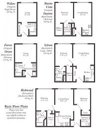 Stunning Small Apartment Floor Plans Contemporary Decorating - Apartment floor plans designs