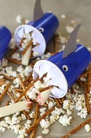 cuisine az frigo diy shark cups snack attack