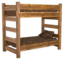 Wood Frame Bunk Beds Bedroom Attractive Furniture For Rustic Bedroom Furnishing
