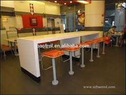 restaurant high top tables kfc fast food table custom size restaurant high top bar tables for
