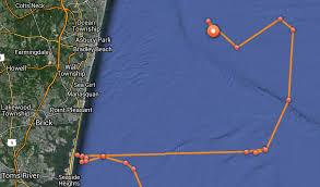 great white shark tracker mary lee off coast of asbury park nj com