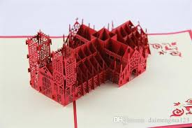 fashion 3d cards new arrive excusive westminster cathedral