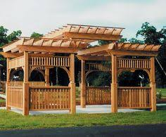 Wood Pergola Plans by Gazebo Building Plans Pergola Backyard Ideas Pinterest