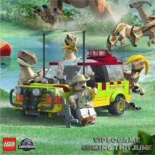 jurassic world vehicles these raptors are going bananas for next month u0027s release of lego
