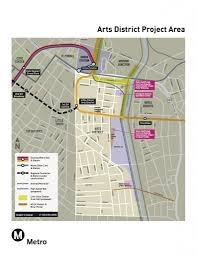 Metro Expo Line Map by Metro Gets Serious About Arts District Rail Station Los Angeles