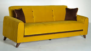 Istikbal Sofa Beds Fabio Lilyum Yellow Convertible Sofa Bed By Sunset