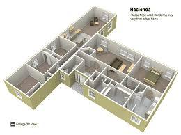 hacienda style homes floor plans hacienda floor plan factory expo home centers