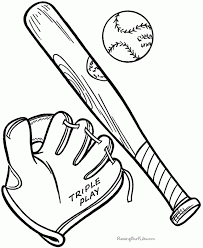 baseball coloring pages printable aecost net aecost net