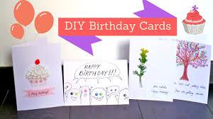easy and creative birthday card ideas diy handmade birthday