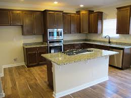 Landmark Kitchen Cabinets by Landmark Building U2013 Gold Brazil Granite U0026 Walnut Glaze Cabinets 1
