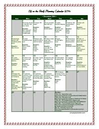 elf on the shelf planning calendar 2014