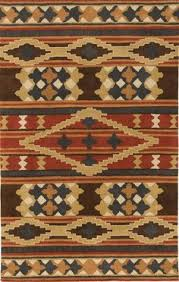 Area Rugs Southwest Design Santa Fe 4011 Area Rug Buy Southwestern Rugs At Lights In The