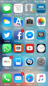 Iphone 5 Symbols On Top Bar Ios 9 First Impressions On An Iphone 5 Low End Mac