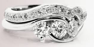 wedding engagement rings how to match a wedding ring to an engagement ring