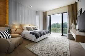 Simple Bed Designs by Interior Large Minimalist Bedroom Design With Simple Bed Next To