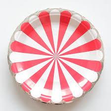 wedding party plates 10pcs lot striped theme paper plates birthday wedding party