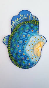 80 best home blessing hamsa quilling art images on pinterest
