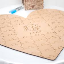 personalized guest book personalized guestbook puzzle