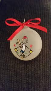 Softball Christmas Ornament - softball ornament custom personalized christmas ornament