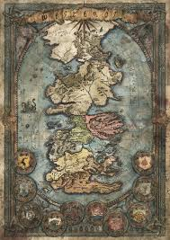 Game Of Thrones World Map by Francesca Baerald Map Of Westeros Game Of Thrones