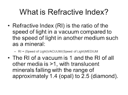 What Is The Speed Of Light Composition Of Sand At Sandy Hook What Is Refractive Index