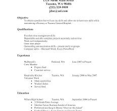 food service resume template resume template food service healthcare manager sle for