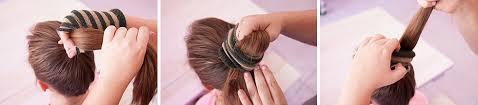 sock hair bun how to do a sock bun beautylish