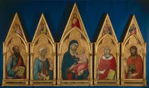 simone martini artist virgin and child with saints boston polyptych 1325 simone