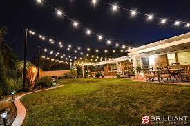 creative decoration back yard lights winning backyard wedding