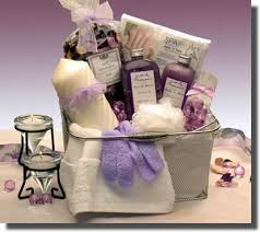 spa gift sets bath and spa caddy relaxation bath gift aromatherapy gift