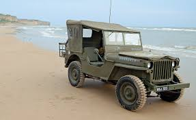 amphibious jeep storming normandy in a world war ii jeep feature car and driver