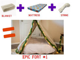 How To Build A Tent 3 Easy Diy Forts Using Household Items The Realistic Mama