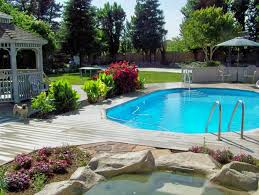 pools for home exterior design doughboy pools for home swimming pool design