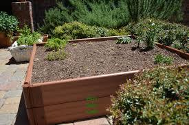 raised herb garden beds gardening ideas
