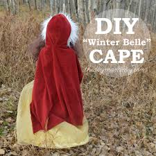 sew a winter belle cape some chocolatey surprises kindermom