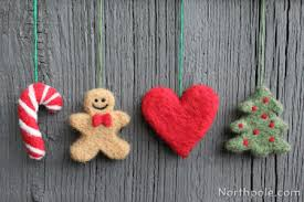 craft cottage needle felted cookie cutter ornaments