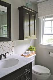 Storage Ideas For Small Bathrooms With No Cabinets by Best 25 Over The Toilet Cabinet Ideas Only On Pinterest
