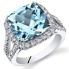silver topaz rings images 6 25 carats cushion cut swiss blue topaz ring sterling jpg
