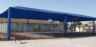 Shade Awnings Outdoor Basketball Court Shade Shade N Net