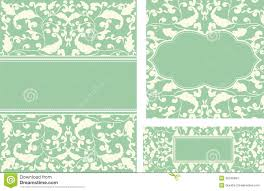 vintage card with leaf ornaments stock vector image 20248394