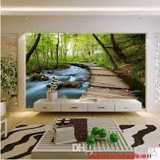 green wallpaper home decor 3d wallpaper for home custom new can customized large 3d mural art